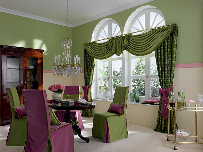 vorh nge dekorieren m belideen. Black Bedroom Furniture Sets. Home Design Ideas